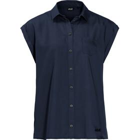 Jack Wolfskin Mojave T-shirt Femme, midnight blue